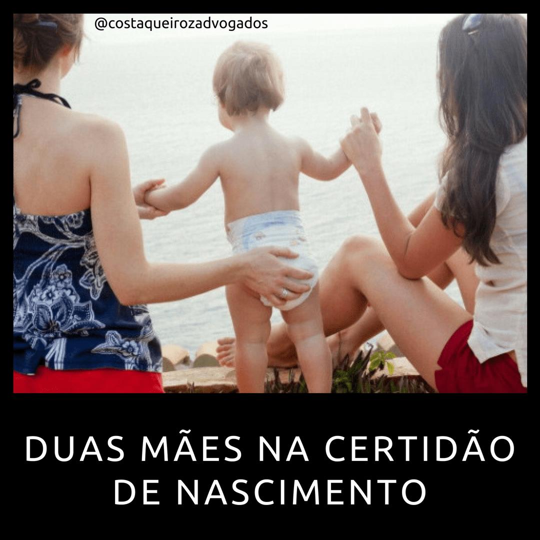 Read more about the article Em decisão inédita menina terá duas mães na certidão de nascimento