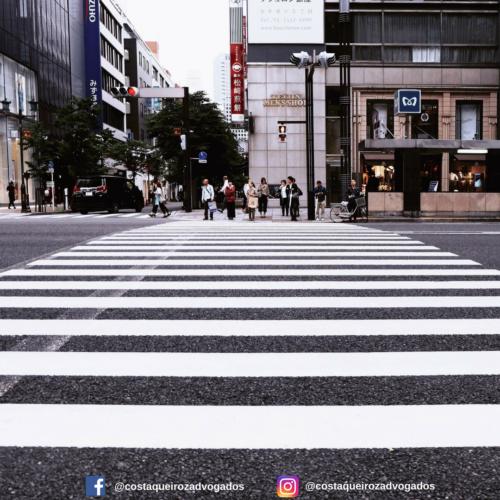 Pedestre também é responsável pela segurança do trânsito