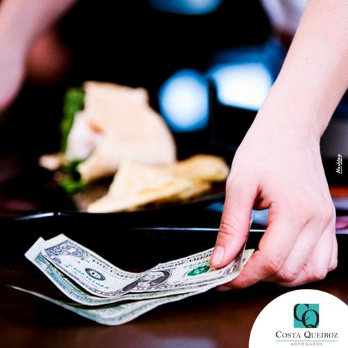 Restaurante é condenado por não integrar gorjetas à remuneração dos empregados